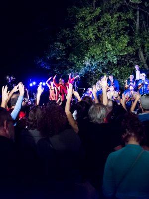 festival Les Délices Perchés à Notre Dame de Mesage , 2018.